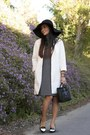 Zara-dress-white-zara-coat-celine-bag-tildon-heels