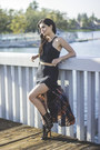 Black-suede-clutch-salvatore-ferragamo-bag-black-gladiator-heels-mia-heels
