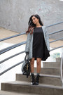 Barbara-bui-boots-zara-dress-h-m-coat-michael-kors-bag