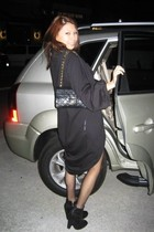young fabulous&broke jacket - sam eldelman shoes - Chanel lambskin 255 purse - s