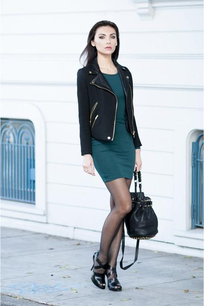 Alexander Wang bag - H&M dress - delphine shoes Alexander Wang heels
