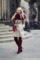 beige NY coat