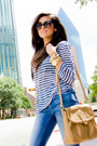 Skinny-zara-jeans-stripe-tee-nm-luxury-essentials-shirt