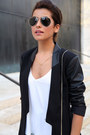 Distressed-topshop-jeans-black-leather-sleeves-jc-penney-blazer