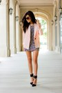 White-forever21-dress-light-pink-smythe-blazer-black-strappy-zara-heels