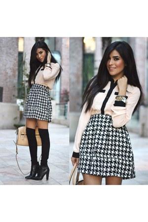 Target shirt - Forever 21 shoes - Halogen bag - Nordstrom socks - Target skirt