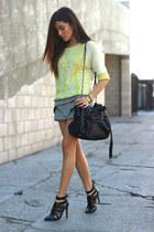 Zara skirt - Design History sweater - CC Skye bracelet