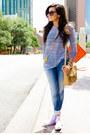 Denim-zara-jeans-violet-stripe-shirt-nm-luxury-essentials-shirt