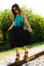 Gabriela-dias-top-sandalss-forever21-clogs-maxi-skirt-asos-skirt