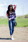 Boyfriend-jeans-gap-jeans-usa-flag-the-classic-sweater-forever21-bag