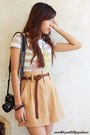 Camel-shopcapricious-shorts-beige-f-h-shirt-dark-gray-my-friend-nicoles-bag-