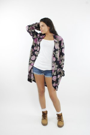 purple Carole Little for Saint-Tropez West blazer