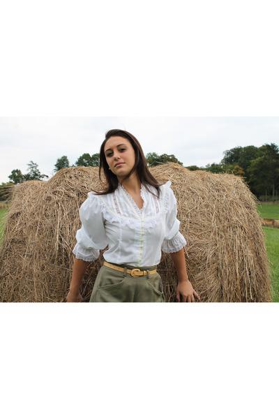 Gunne Sax blouse