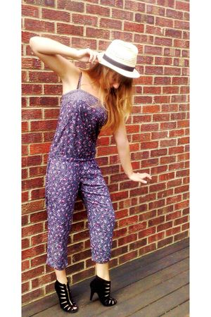 Faith shoes - Newlook hat - suit