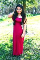 Lulus vest - Forever 21 dress