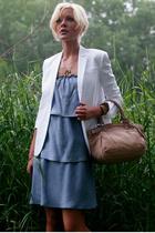 Ella Moss dress - Helmut Lang blazer