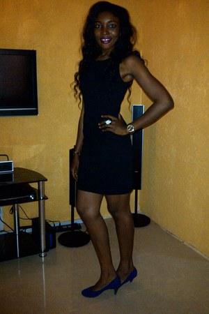 Zara dress - Qupid heels