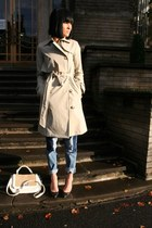 beige trench coat All Saints coat