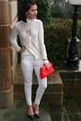 White-h-m-jeans