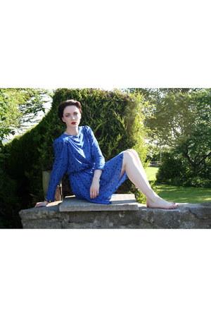 shoulder pads vintage dress