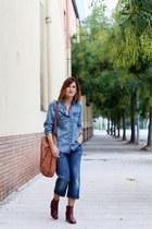 Mango shirt - Levis jeans - Sub&Sive bag