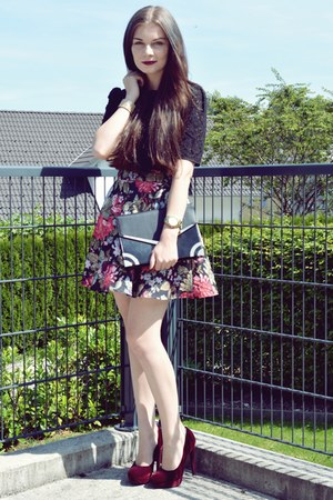 black Vero Moda top