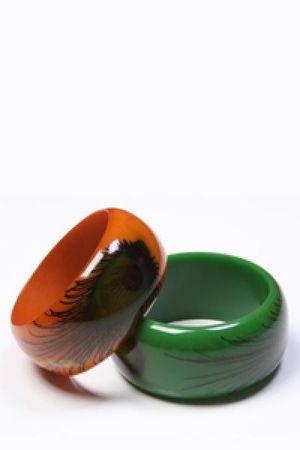 green Send the Trend bracelet