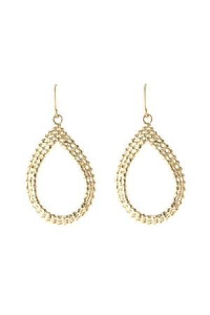gold Send the Trend earrings