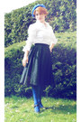 Blue-h-m-hat-navy-diy-skirt-blue-falke-stockings