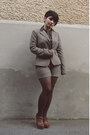 Tan-orsay-blazer-brown-elite-bag-tan-orsay-shorts-brown-deichmann-heels