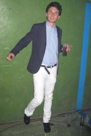 H&M jacket - Ralph Lauren shirt - Tommy Hilfiger belt - Georges shoes
