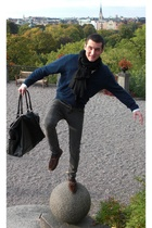 Zara jacket - Cheap Monday pants - Geox shoes - Zara purse