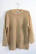 gold vintage sweater