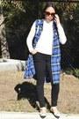 Blue-ross-for-less-dress-black-forever-21-jeans-ivory-forever-21-top