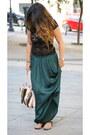 Lace-las-pepas-top-zara-skirt