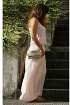 Mango dress - Sfera bag - Zara flats