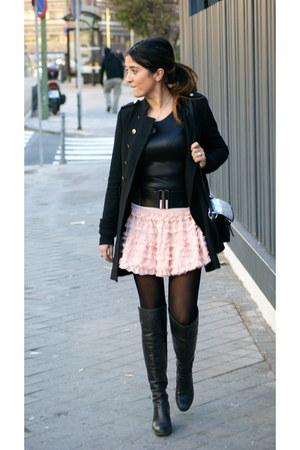 Chicwish skirt - Zara coat