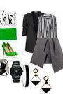 Helmut-lang-blazer-jw-anderson-skirt-zara-blouse-giuseppe-zanotti-heels