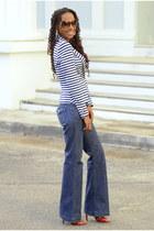 H&M blazer - red Anne Michelle heels