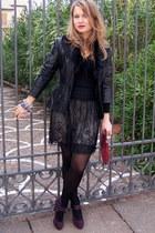 black Promod skirt
