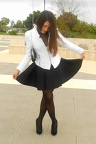 Zara jacket - asos dress