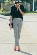 BCBG shirt - asos pants