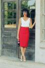 Zara-top-zara-skirt-zara-heels