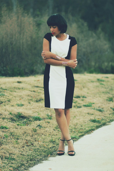calvin klein dress - Zara heels