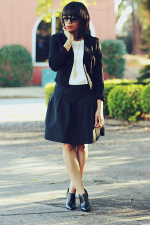 Gap skirt - H&M jacket - JCrew top
