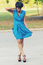 Forever 21 dress - Vince Camuto sandals
