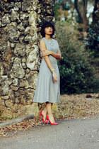 Zara dress - Prada heels