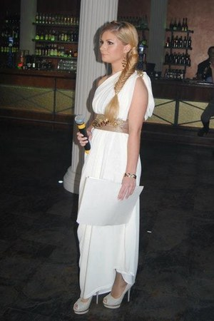 ivory Hand Made dress
