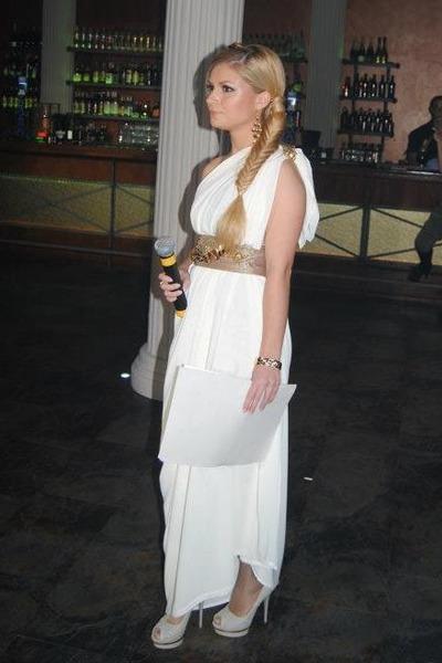 ivory Hand Made dress