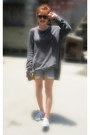 Heather-gray-cole-haan-sweater
